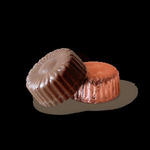 Orange Caramel Melk Chocolate Bite