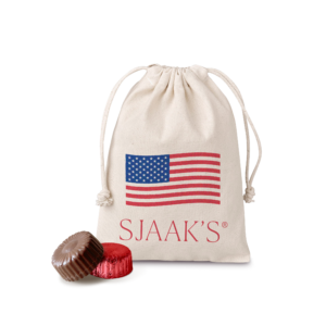 Fourth of July themed pouch of bites