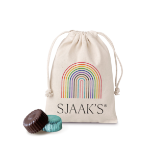 Pride themed pouch of bites